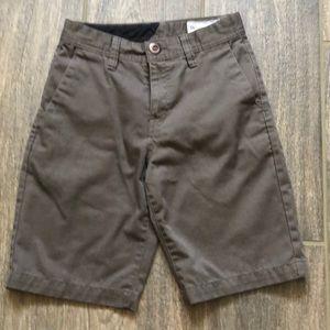 Other - Boys Slim Fit Volcom Frickin Chino Shorts